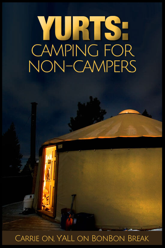 Yurt So Good: Camping For Families Who Don't Camp - A yurt might be your answer to family camping