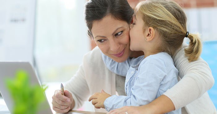 Work-at-home-moms: When Should You Put Your Child in Daycare?