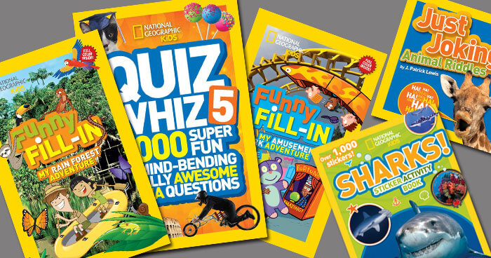National Geographic Kids Fun Pack Giveaway