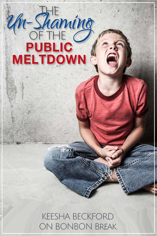 Everyone's kid has had a public meltdown, so why the shaming? Let us break it down for you.