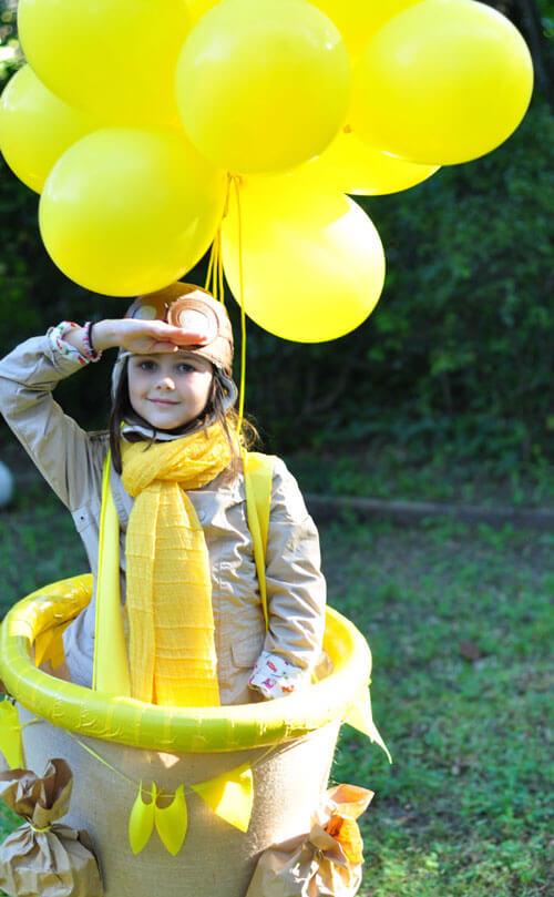 Easy Hot Air Balloon Costume