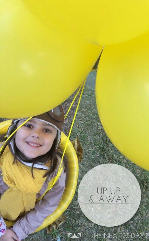 Love this Hot Air Balloon Costume