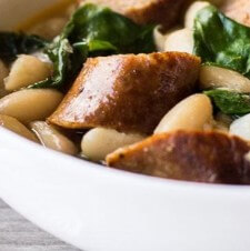 White Bean & Chorizo Stew
