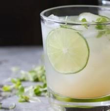 Key Lime Cooler Cocktail