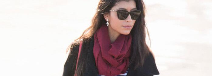 27 ways to wear a scarf