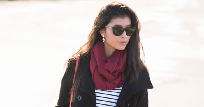 18ad54dc56 6 Ways to Wear a Scarf with Your Favorite Fall Outfits