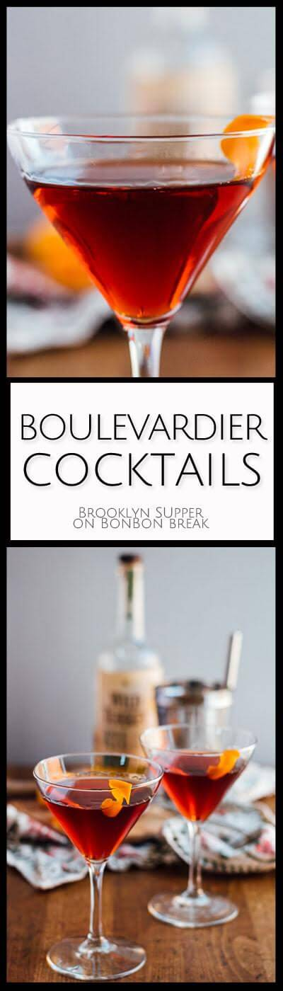 These Boulevardier Cocktails are perfect for priming your appetite for Thanksgiving dinner AND helping you smile while your family talks politics.