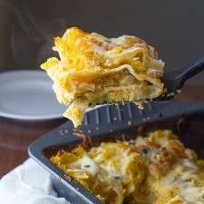 butternut sage lasagna