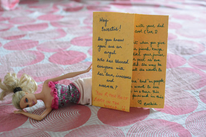 When Barbies Wrote Letters To My Daughter | BonBon Break