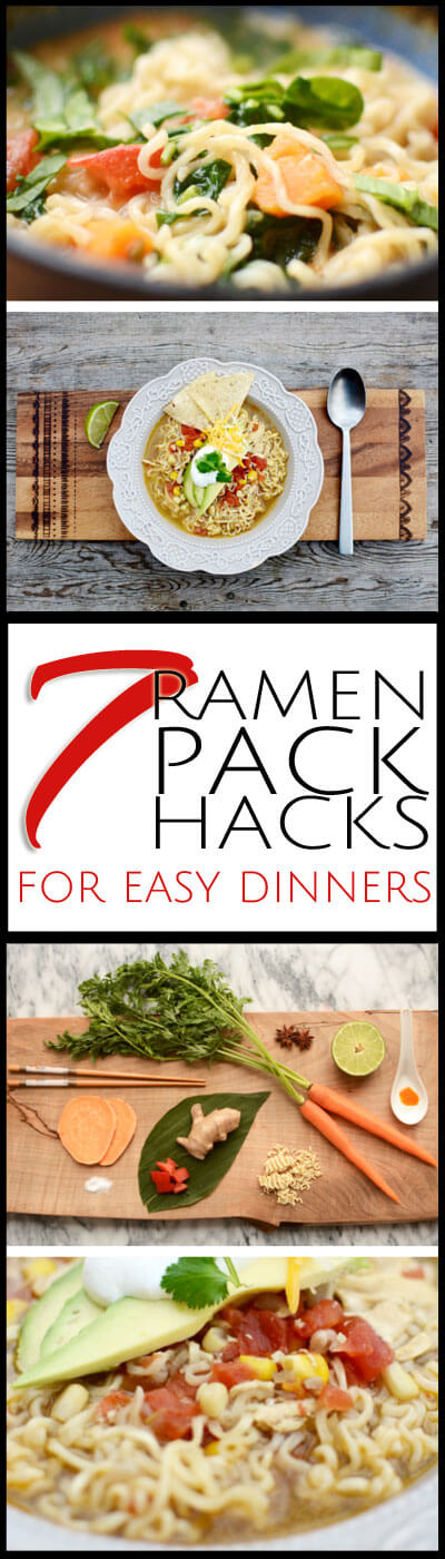 These 7 ramen soup recipes will save you during a busy week. Whether it is dinner or lunch, these are simple recipes for any home cook.