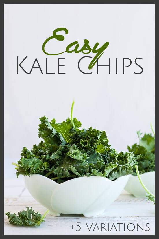 Money saving healthy snacks with this easy kale chip recipe