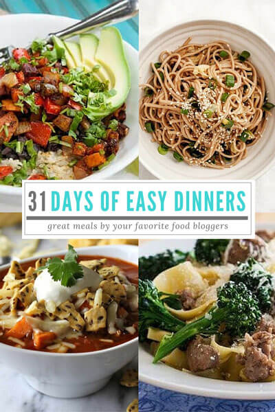 31-days-of-easy-dinners