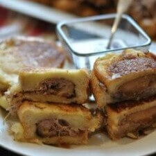 Pot Roast Grilled Cheese Sandwich