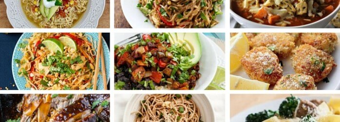 31 days of easy dinners
