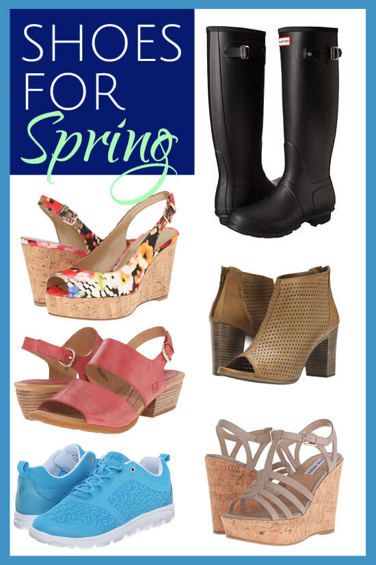 Check out these 20 shoes for Spring. A pair for every occasion
