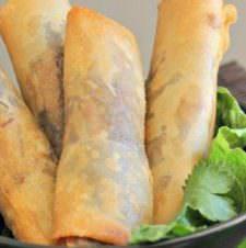 Homemade Thai Spring Rolls
