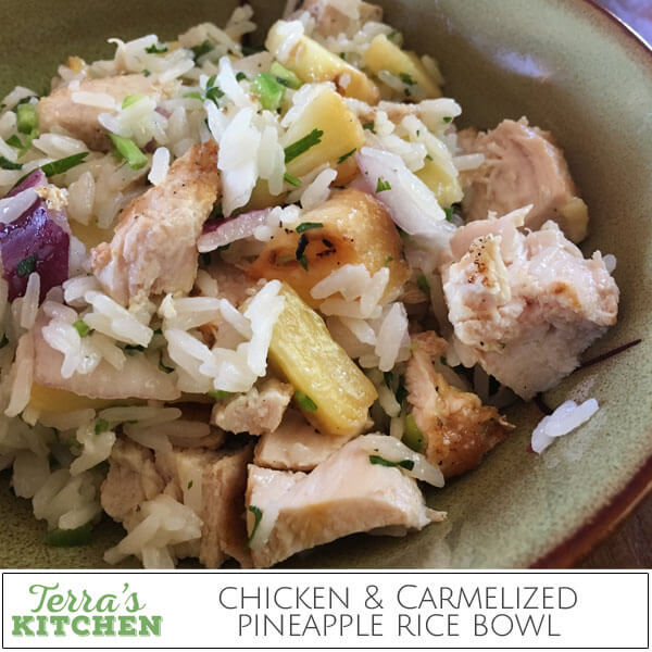 chicken-and-carmelized-pineapple