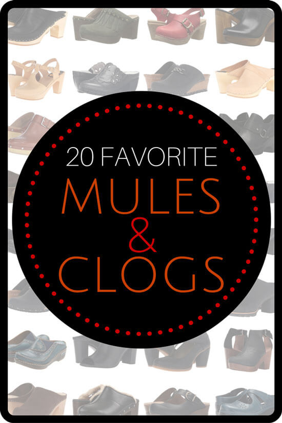 Our 20 Favorite Mules and Clogs for Fall