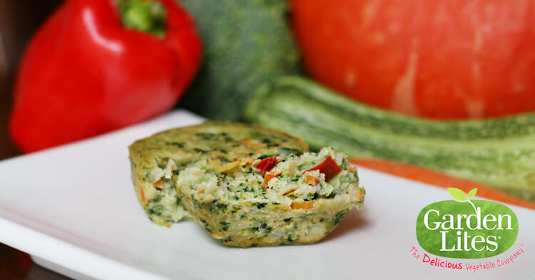 Healthy Snacks from Garden Lites: Superfood Veggie Cakes