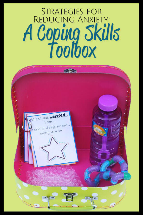 Effective and easy strategies for reducing anxiety that you can do right now to help your child. Learn how to create a coping skills toolbox.