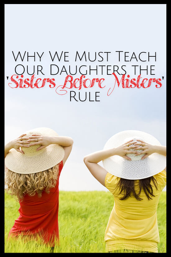 "We must teach our daughters the ""Sisters before Misters rule. It is up to us to redefine beauty for ourselves and our daughters."