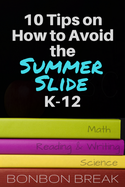 Summer is here and it is easy to slide into unscheduled bliss. It is known that kids can lose up to half a year during the summer break. Here are some tips to keep your kids at grade level.