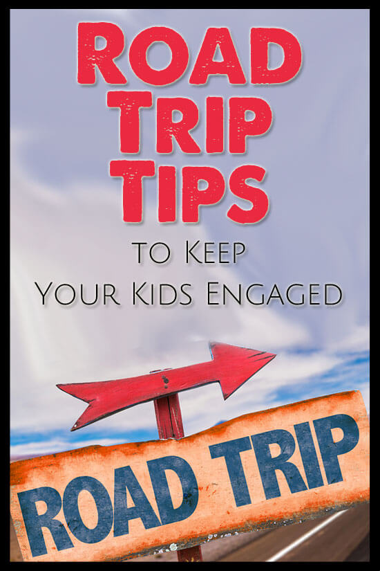 Road Trip Tips to Keep Your Kids Engaged with Printables