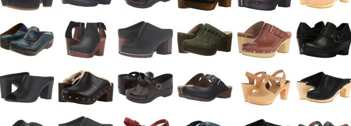 fall mules and clogs