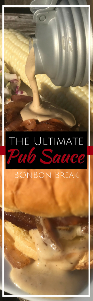 This pub sauce recipe will redefine how you eat burgers. SO tasty!