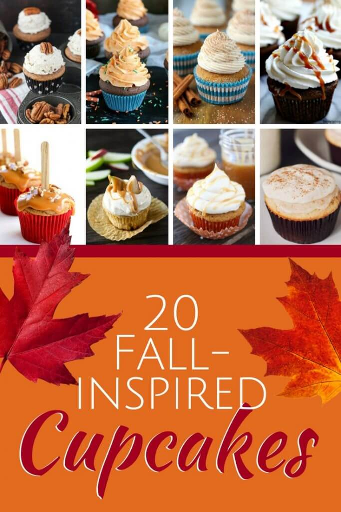 Caramel drizzle, pumpkin spice, ginger and apples are just a few of the flavors behind our favorite fall-inspired cupcakes.