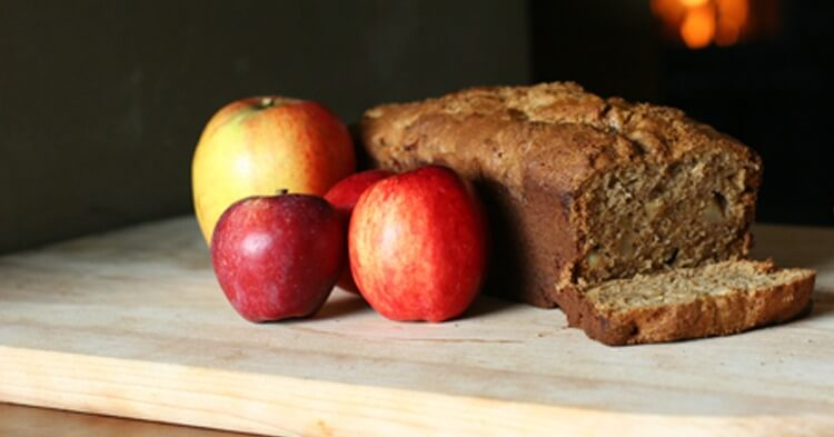 Brown Butter Apple Bread