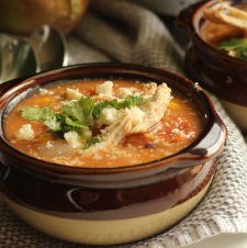 Easy Chicken Enchilada Crockpot Soup