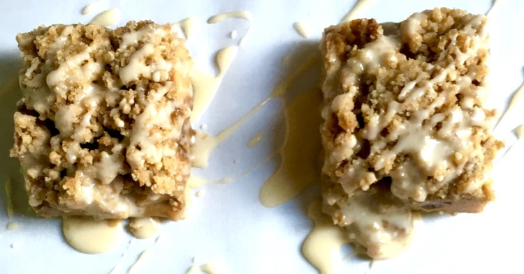 Gluten-Free Apple Pie Shortbread Bars