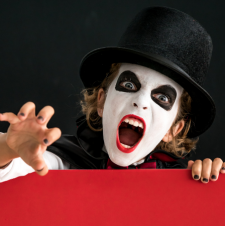 Halloween Charades for Kids (with printable game cards)
