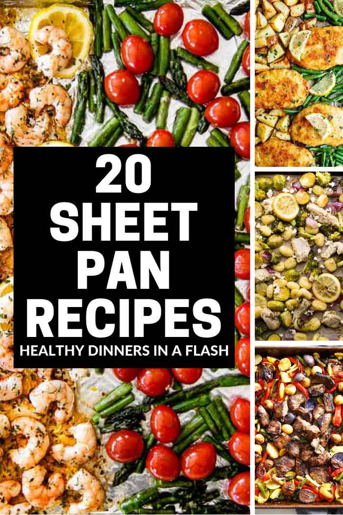 Quick, health dinners are why we love these easy sheet pan recipes.