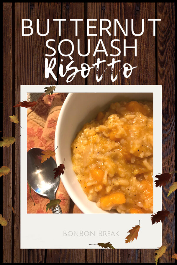 This Butternut Squash Risotto is the perfect Fall recipe.