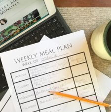 Meal Planning Help to the Rescue! Our Quick Guide to Easy Dinners
