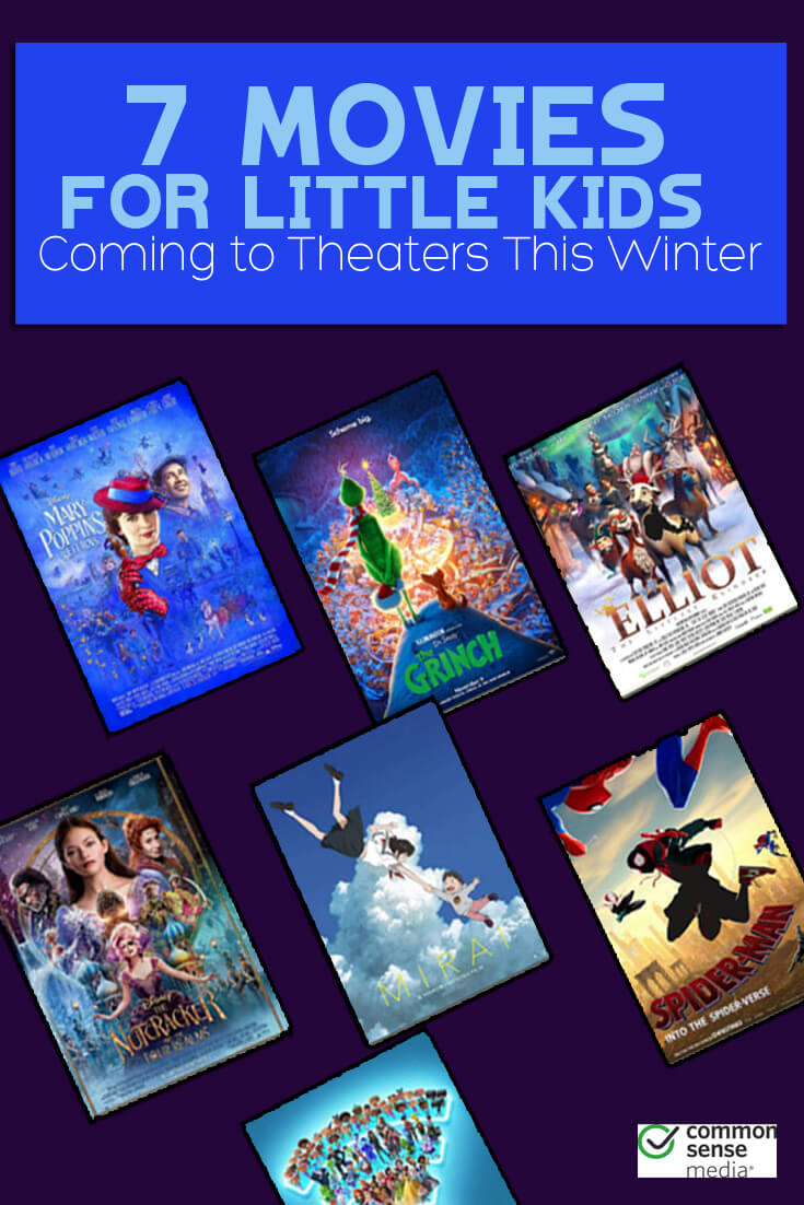 These new movies are perfect for little kids as we head into the winter season. Which one will you see first?