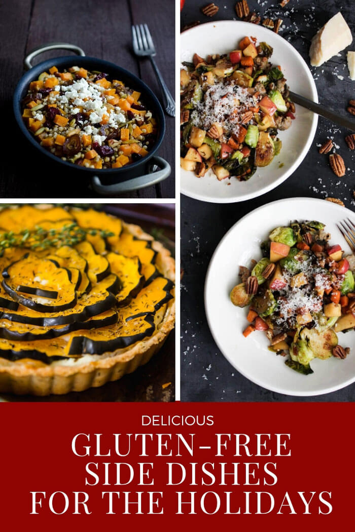 A collection of gluten-free side dishes that are healthy and perfect for the holidays. Many of these are paleo friendly too!