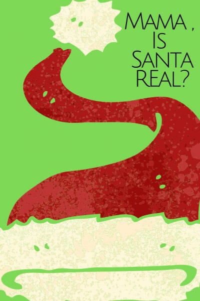 """This is the question we all wait for, """"Is Santa Real?"""" This is a little parenting advice about the Spirit of Giving during the Christmas season."""