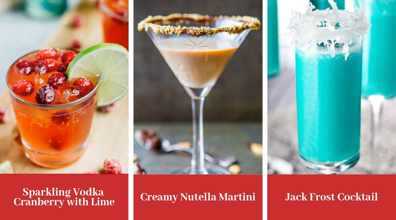 These Christmas Cocktails will he the hit of your holiday party