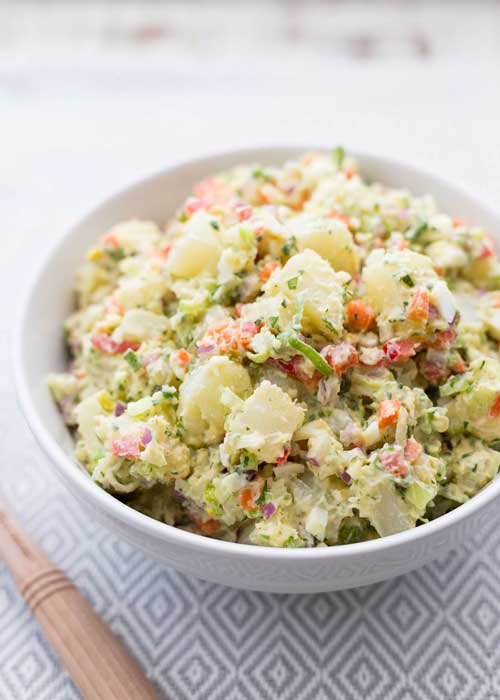 Pressure Cooker Potato Salad by Simply Recipes