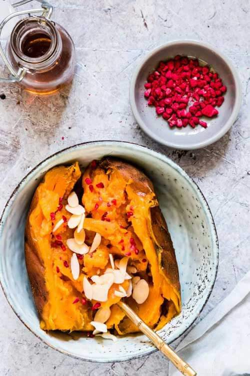 Instant Pot Sweet Potatoes With Almonds by Recipes From A Pantry