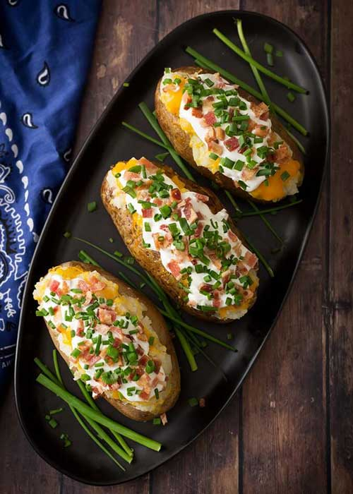 Instant Pot Baked Potatoes by Simple Happy Foodie