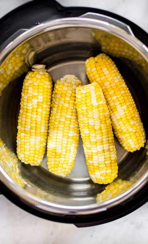 Instant Pot Corn On The Cob by Salt And Lavender