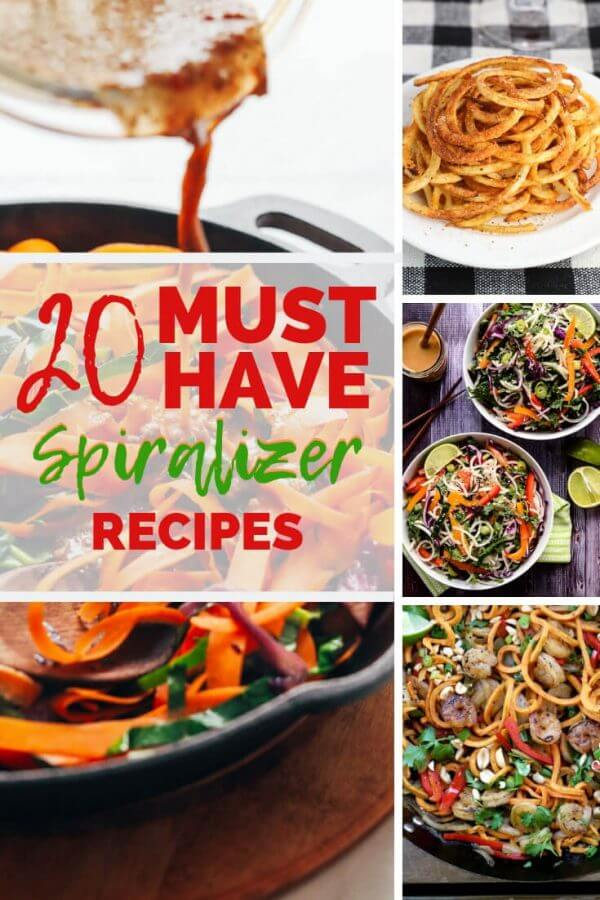 These spiralizer recipes will help you bring vegetarian recipes to your table.