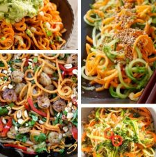 20 MUST TRY Easy and Delicious Non-Zucchini Spiralizer Recipes