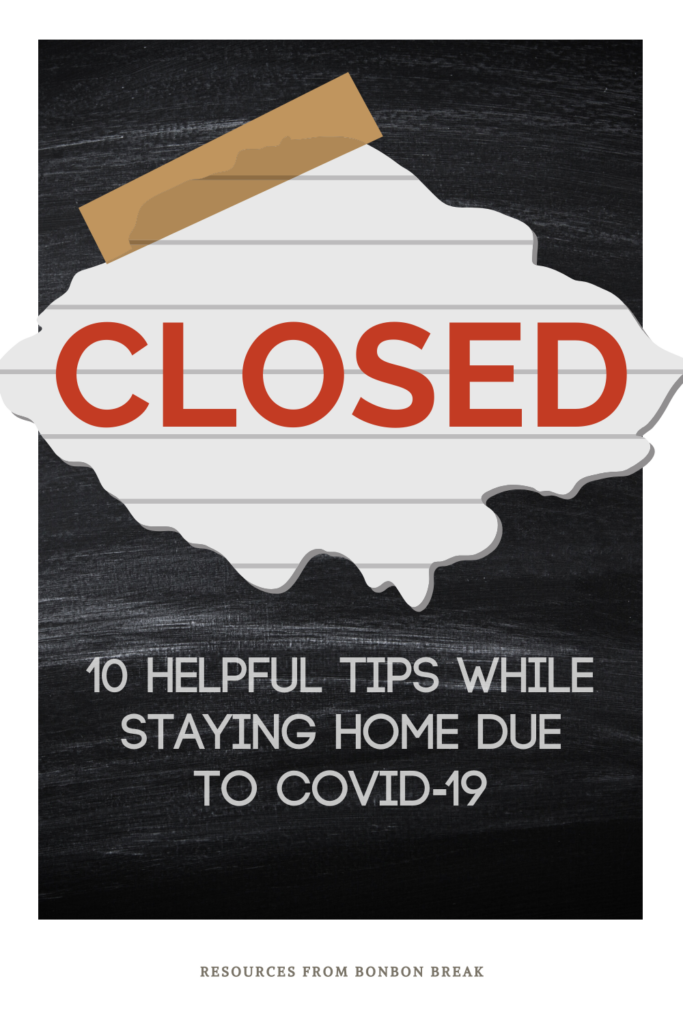 Did you just find out that your child's school is closed due to Covid-19? Don't worry, we have some quick tips to help you through the mandatory homeschooling.