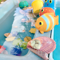 Playroom Water Activities for Kids with Water Tables  200x200