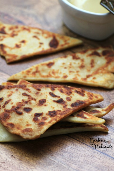 Potato Scones for St. Patrick's Day